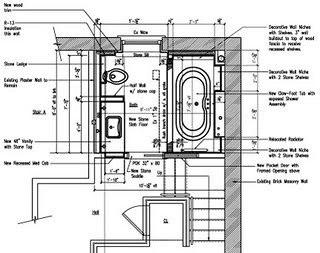 Master Bathroom Floor Plan James Anzalone Flickr