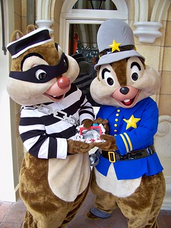 Cops & Robbers Chip n' Dale and Birney | by Castles, Capes & Clones