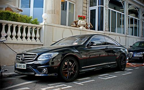 Black On Black Mercedes Benz Cl 63 Amg Bj 246 Rn R Flickr