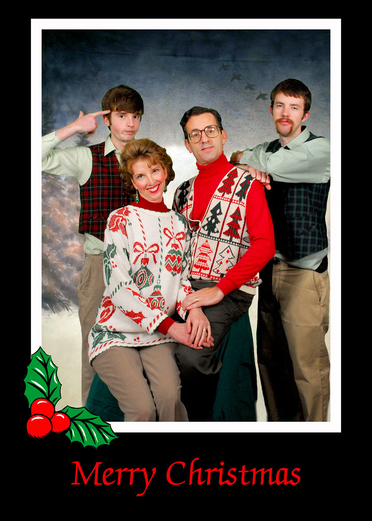 Thompson Family Christmas Card 2009