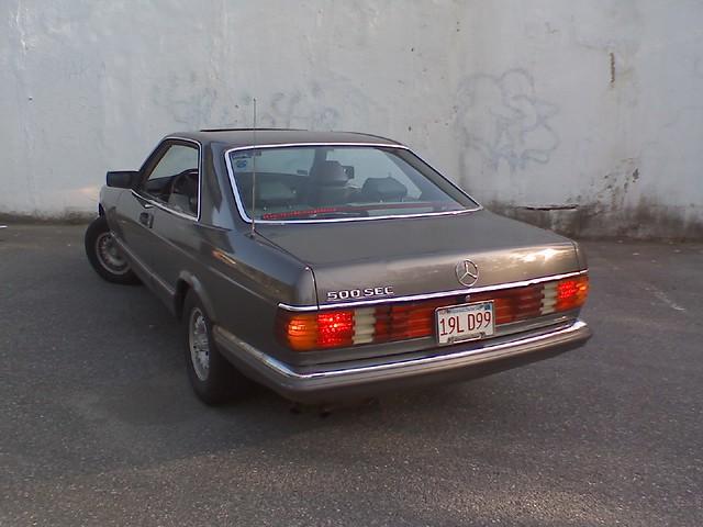 mercedes benz 1984 w126 coupe rear view silvester humaj flickr. Black Bedroom Furniture Sets. Home Design Ideas