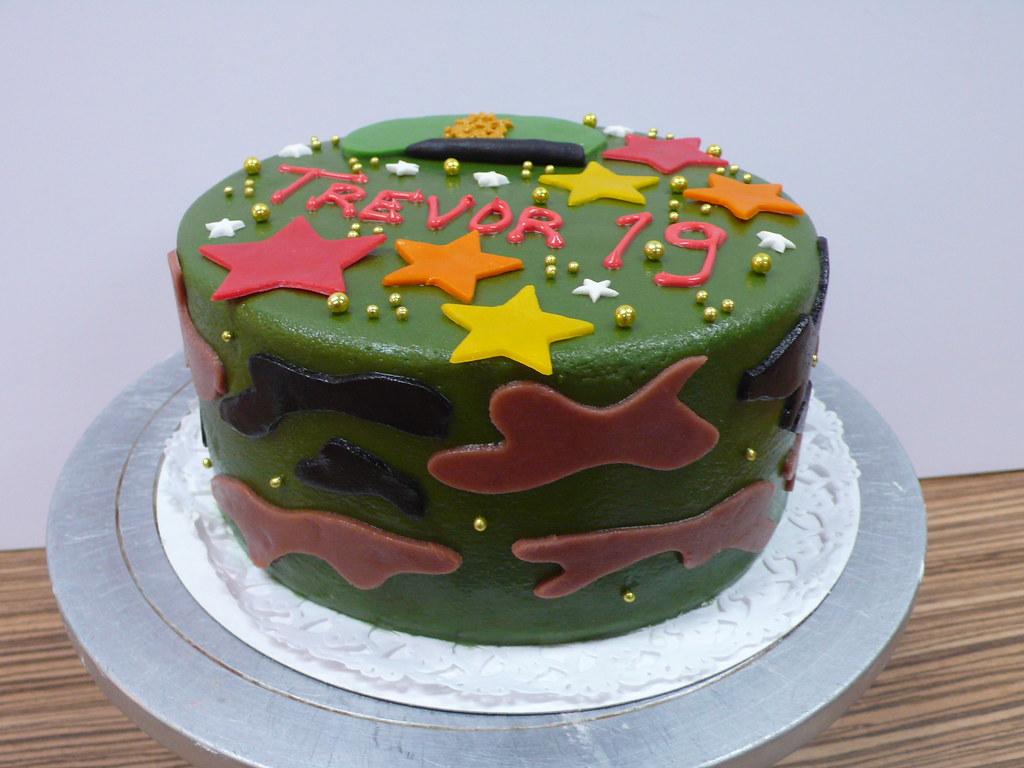 Army Birthday Cake Zoe Elizabeth Gottehrer Flickr