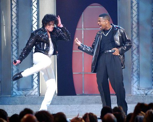 Michael jackson and usher and chris tucker