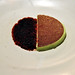 Restaurant Noma: Mousse af havesyre og granité af hybenrose og rødbede
