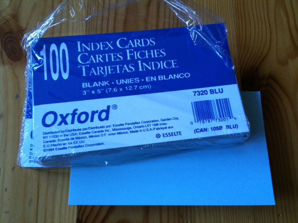 """100 x ASSORTED Record Cards Ruled Both Sides Size 5/"""" x 3/"""" 127x76  Quick Dispatch"""