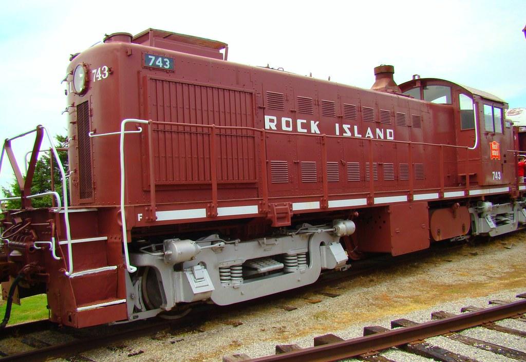 Oklahoma Railway Museum Rock Island Switch Engine
