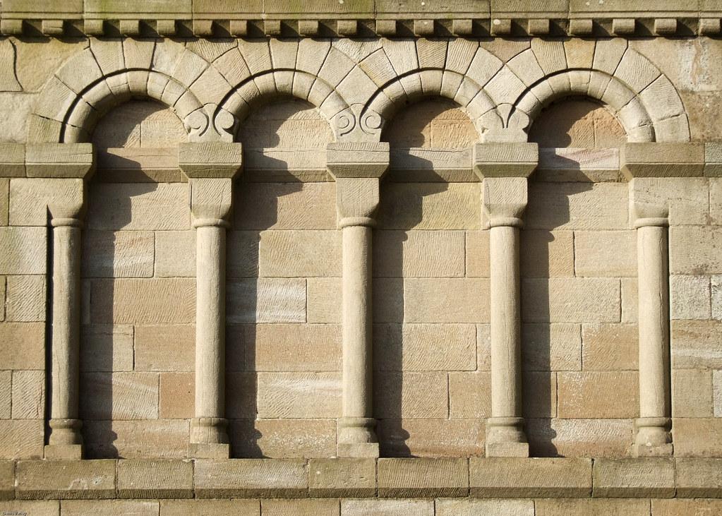 Romanesque Blind Arcading