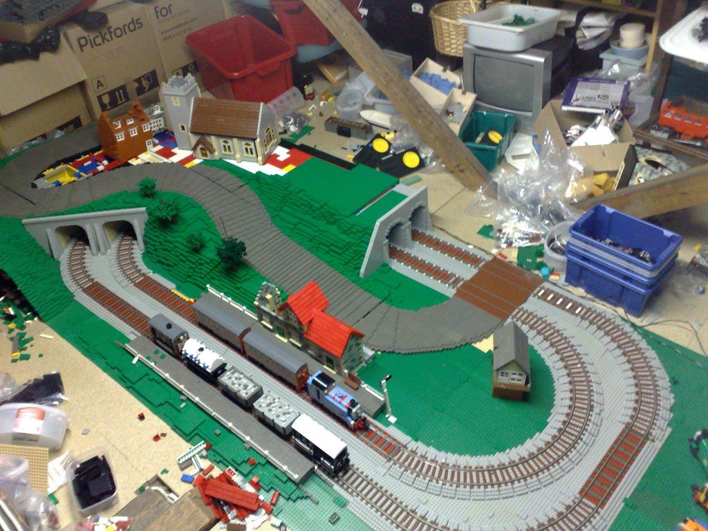 Thomas Layout Wip Still Quite A Bit Of Work Needed The