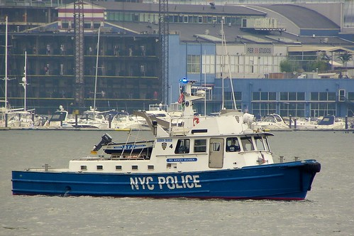 "NYPD's ""P.O. Kenny Hansen"" Launch 4 