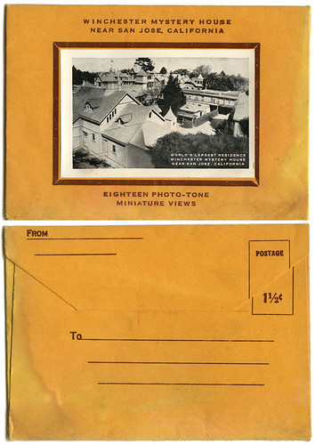 Winchester Mystery House envelope_1940s_tatteredandlost | by tattered and lost attic