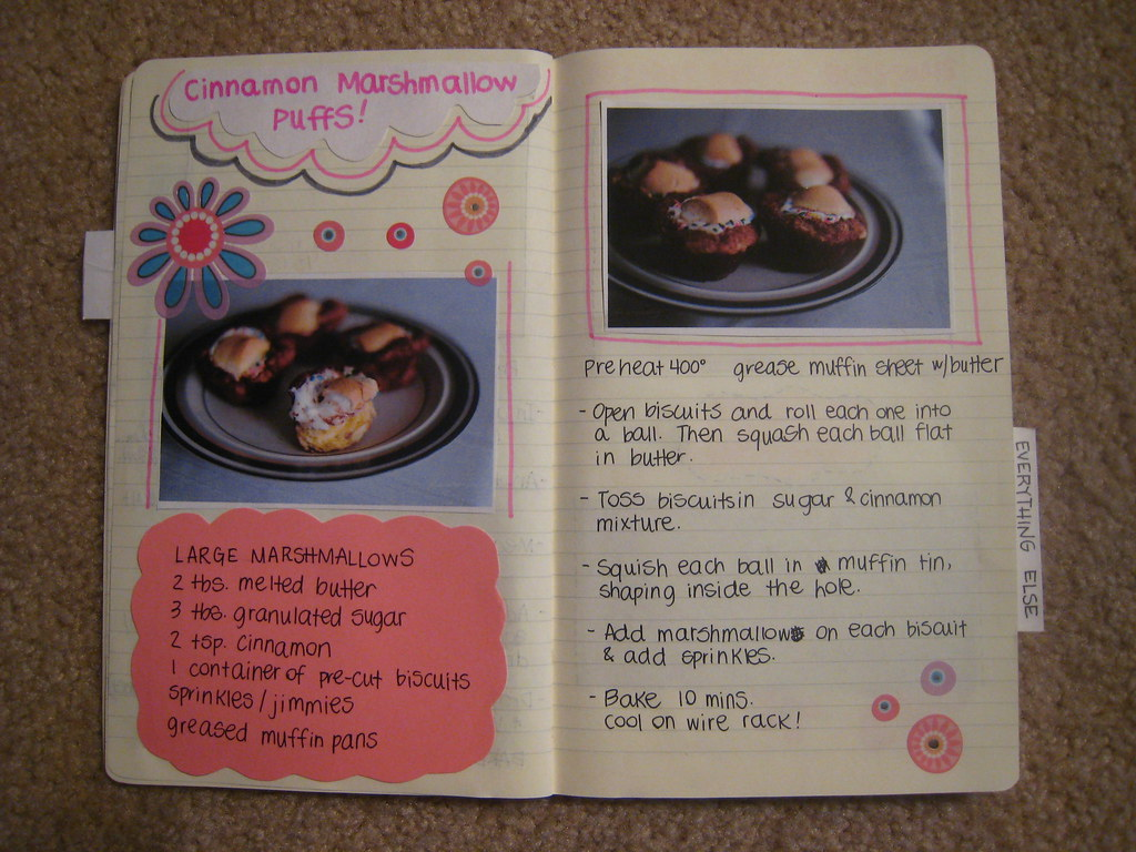 inside my recipe book... | Barb Watson | Flickr