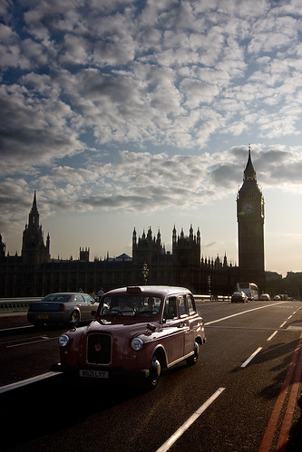 ben, big ben and taxi | by johan 14