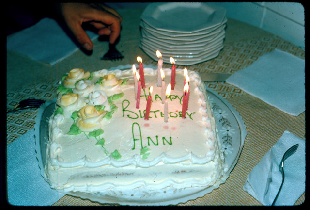 Happy Birtday Ann Birthday Cake Todd Franklin Flickr