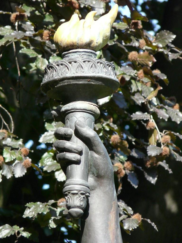 Paris statues 24 06 09 051 statue de la libert du - Statue de la liberte jardin du luxembourg ...