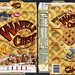 Post - Waffle Crisp - introductory free trial size - cereal box - 1996