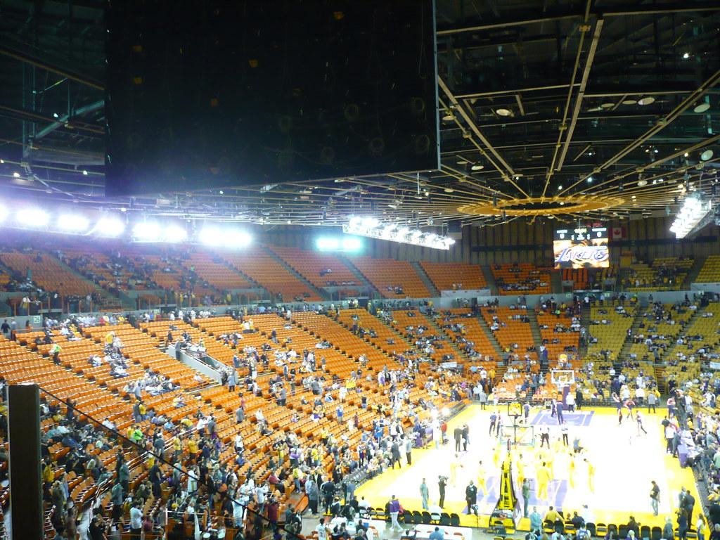 Inglewood Forum Lakers