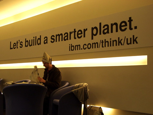 "ibm lets build a smarter planet Ibm - smarter planet 1 ibm let's build a smarter planet 2 challenge • to popularize the ibm's ""let's build a smarter planet."