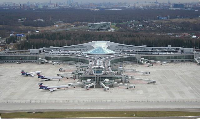 Airport Moscow Sheremetyevo Svo Uuee Moscow