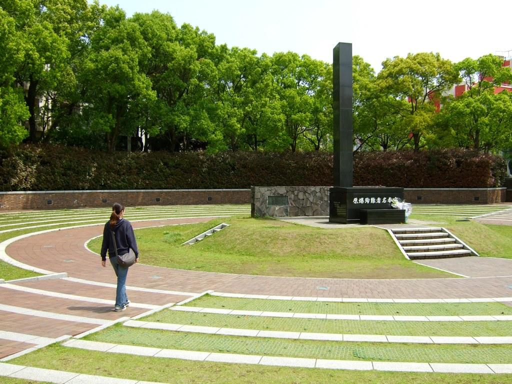 Ground Zero, Nagasaki ...