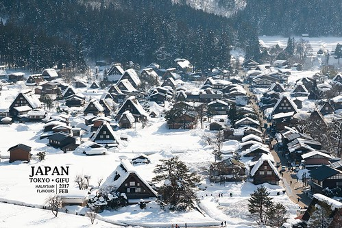 Winter in Gifu & Tokyo with Your Name Movie Real Life Locations