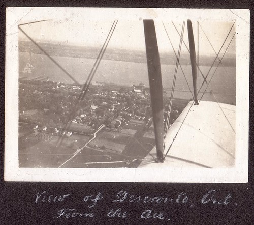 View of Deseronto, Ont. From the Air (Sergeant C.P. Devos photograph 2009.20 (68)