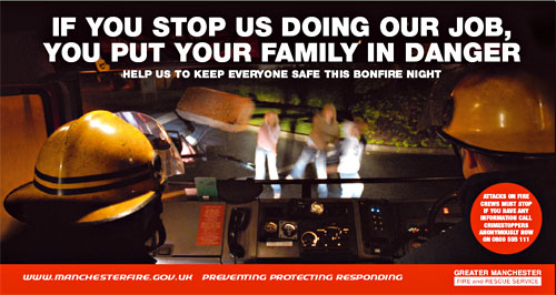 Bonfire Night Fireworks Safety Poster 2006 Epic