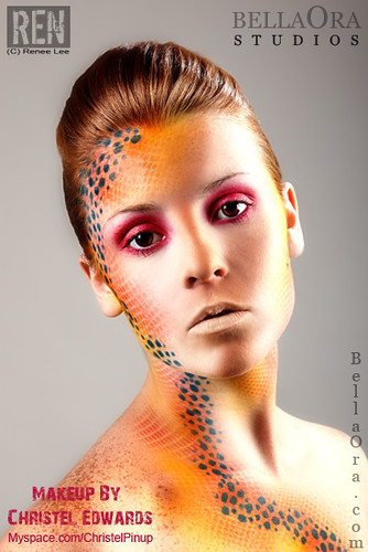 Beautiful woman portrait with creative makeup | Beautiful ...