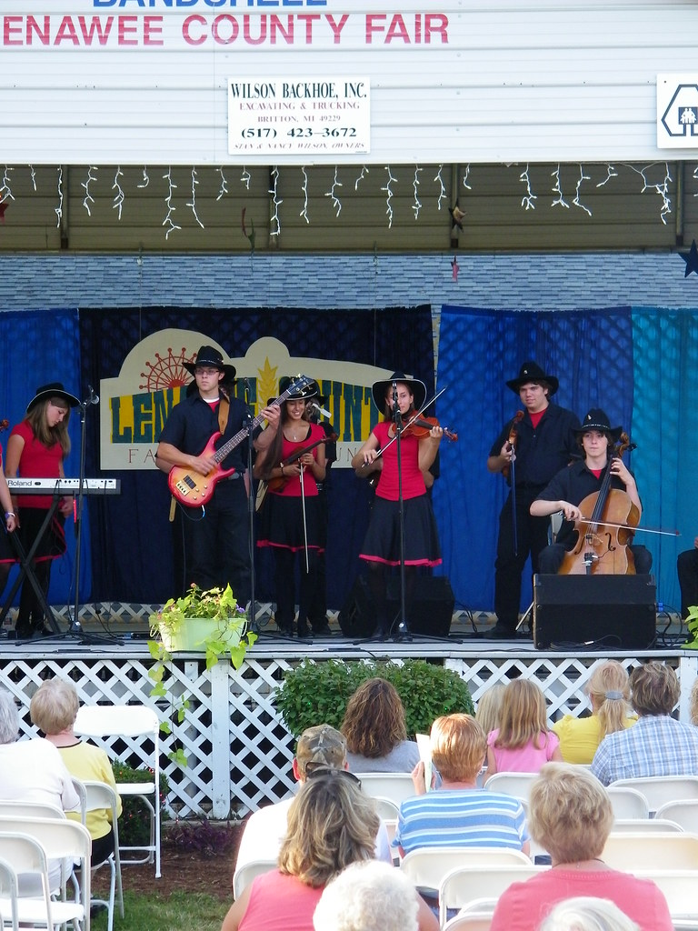Fiddlers ReStrung at Lenawee County Fair (Adrian, Michigan ...