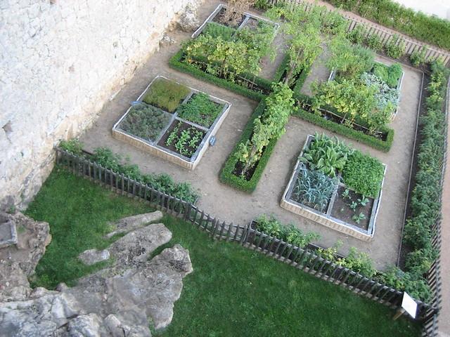 Jardin Potager Du Ch 226 Teau De Castelnaud Potager Du Mus 233 E