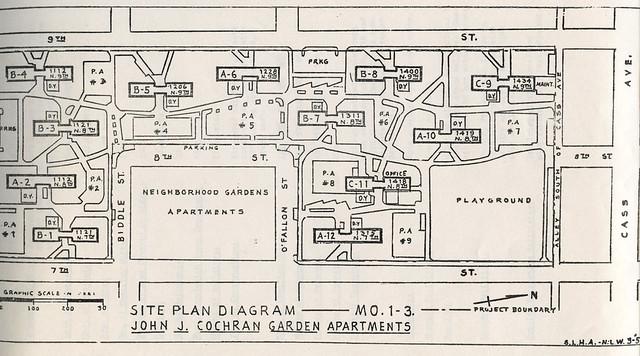 Cochran Gardens Layout