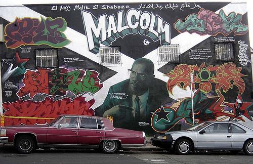 Malcolm X Graffiti Flickr Photo By Ekai Theloop21 Flickr