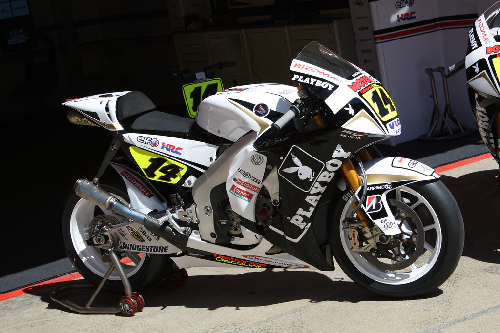 The Playboy MotoGP bike | albertizeme | Flickr