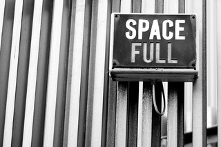 Space is full | by Craig A Rodway