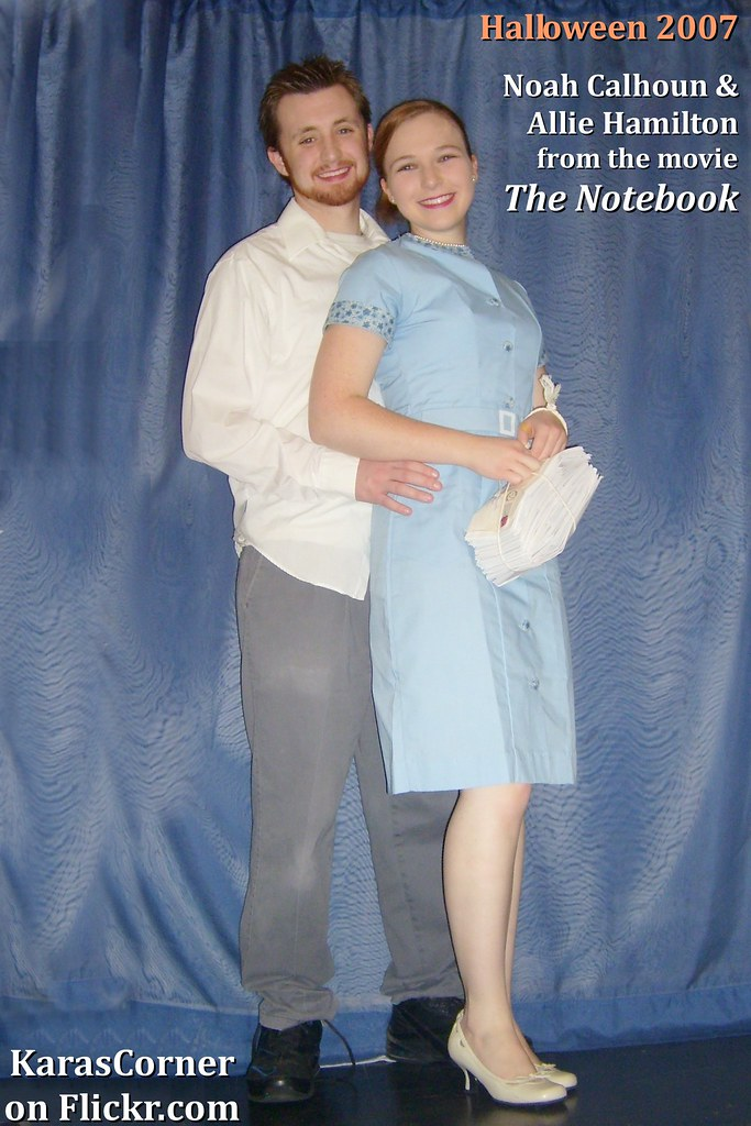 "Noah Calhoun and Allie Hamilton from ""The Notebook"" homema ..."
