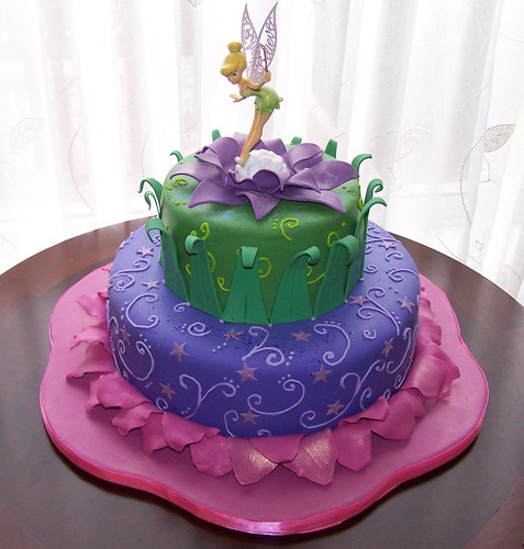 Tinkerbell Cake 10 Quot And 6 Quot Cakes Topper Is Not Edible