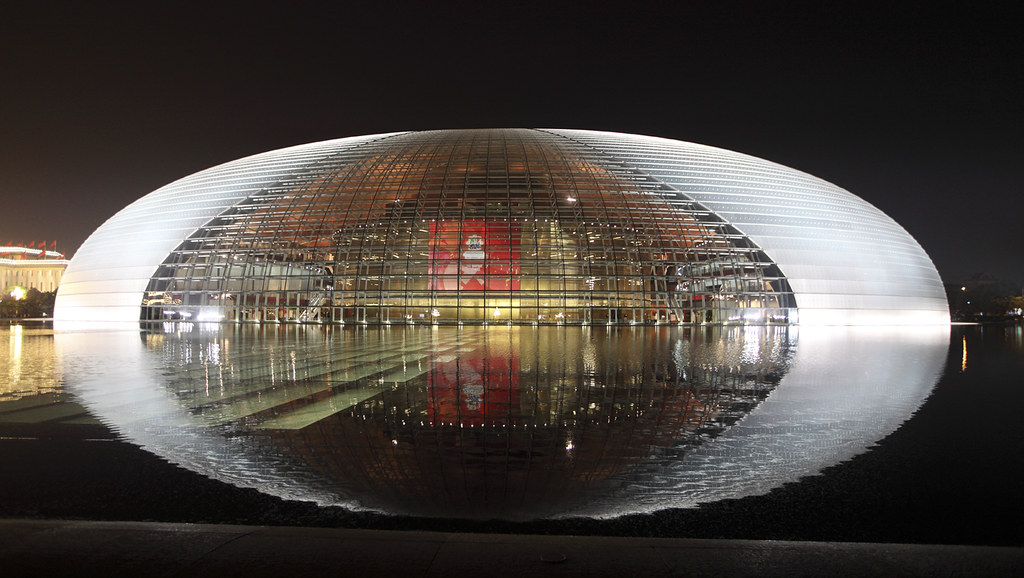 New opera house beijing china we have had the luck to for Beijing opera house architect