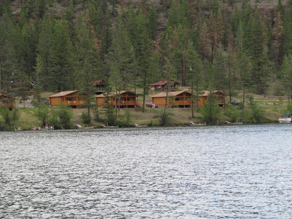 Evergreen fishing resort cabins on loon lake james for Evergreen lake fishing report