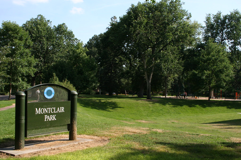 Montclair Park Denver Colorado Montclair Park Bounded