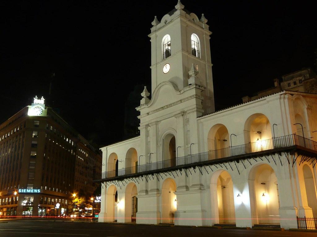 Cabildo de noche foto nocturna del cabildo buenos aires for Semana del diseno buenos aires