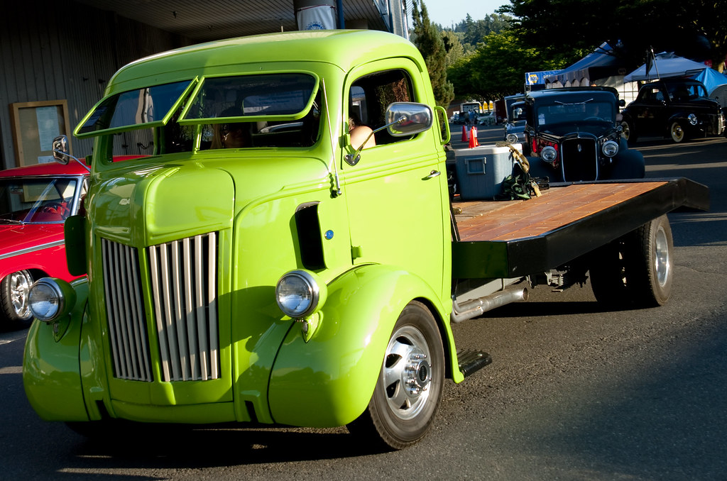 1947 Ford Coe Cab Over Engine Flatbed Truck Mshennessy