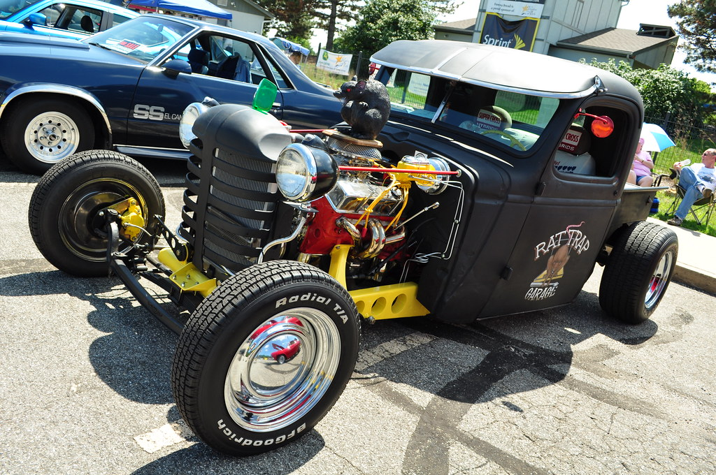 Garden Tractor Grilles : Rat rod with tractor grill john flickr