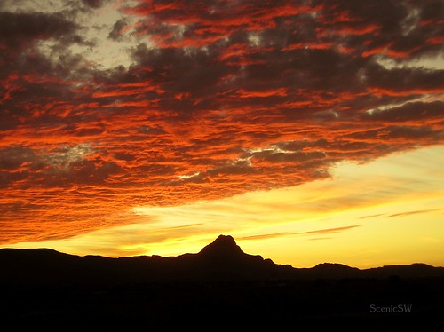 Tucson Mountain Sunset | by ScenicSW