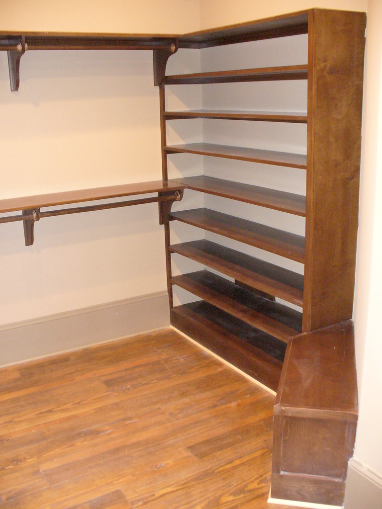 ... Custom Closet Shoe Rack And Bench Seat | By Jwhallbuild