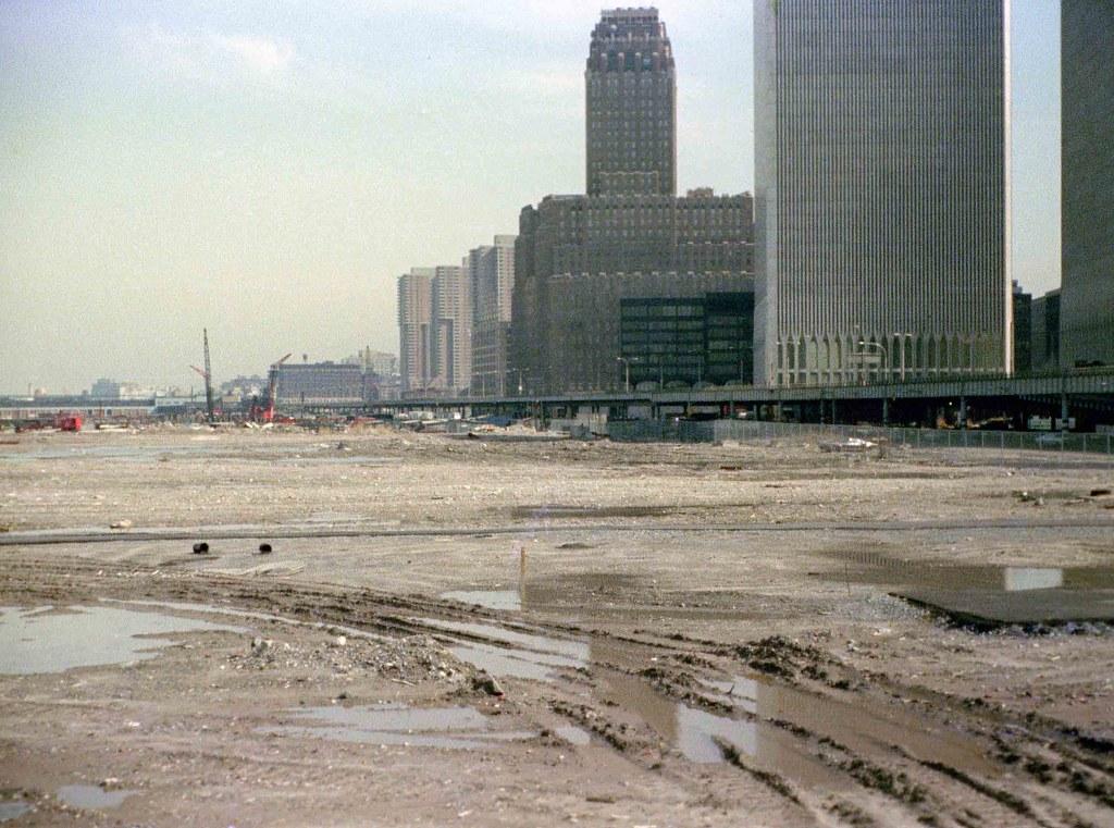Battery Park City Landfill Ny Telephone Company Abandone