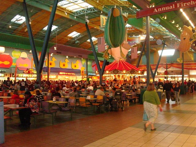 Concord Mills Food Court