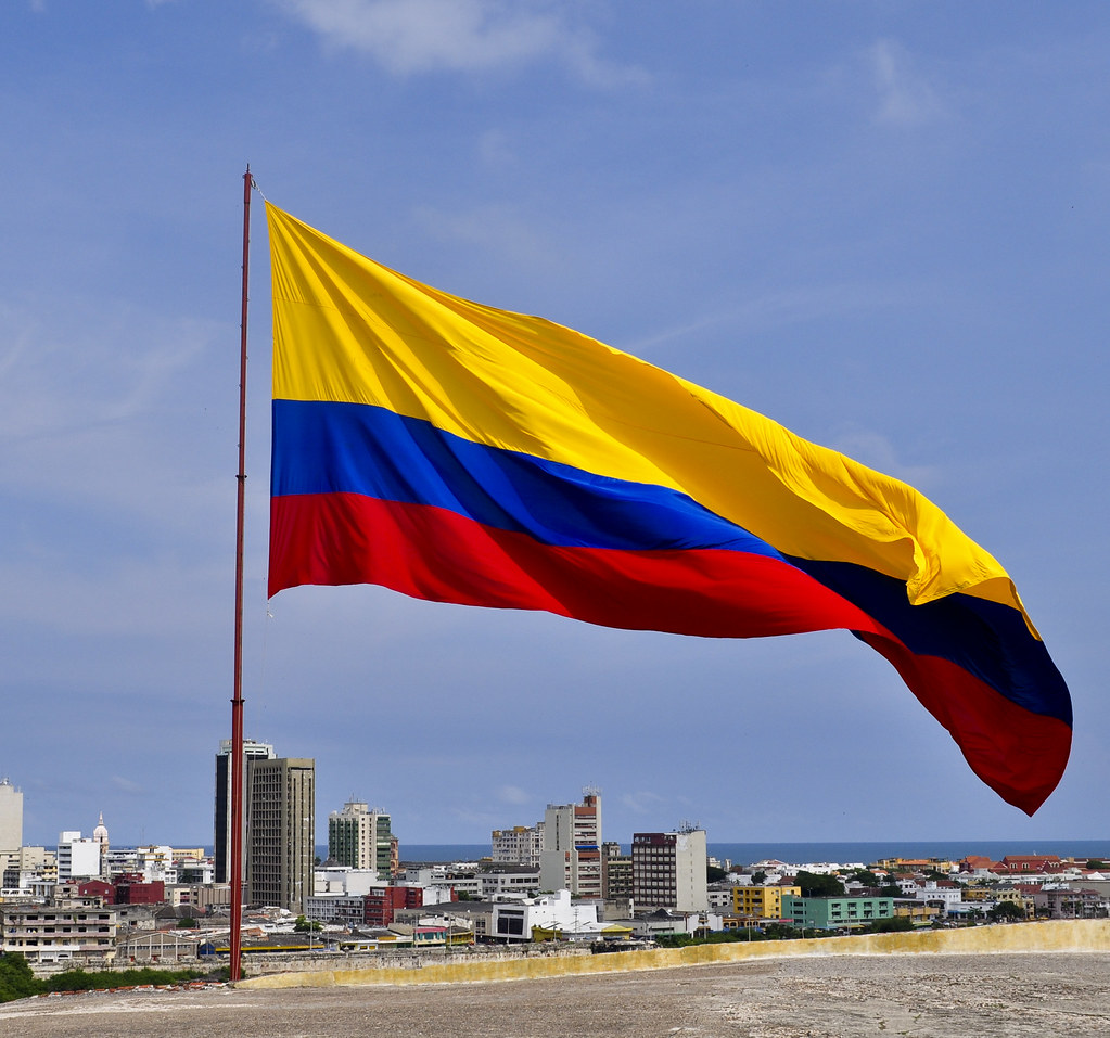 colombian flag colombia itinerary nina malina flickr