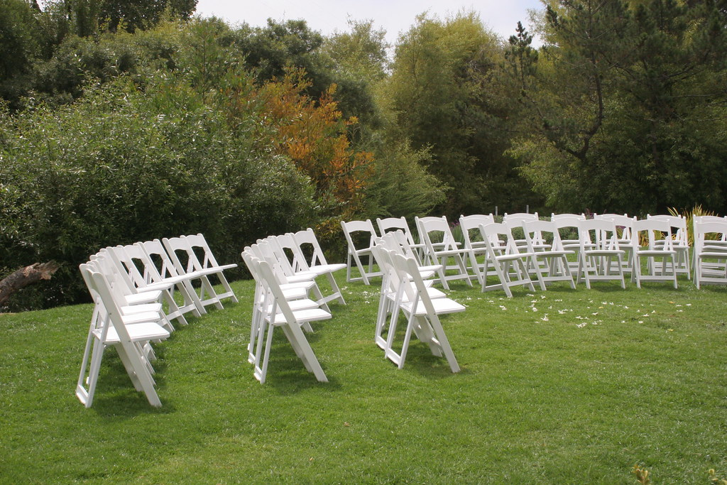 Img 9958 Wedding Chairs Out The Pelican Inn Muir Beach C William C Wellever Flickr
