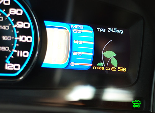 2010 Ford Fusion Hybrid gas gauge | by I Should Be Folding Laundry