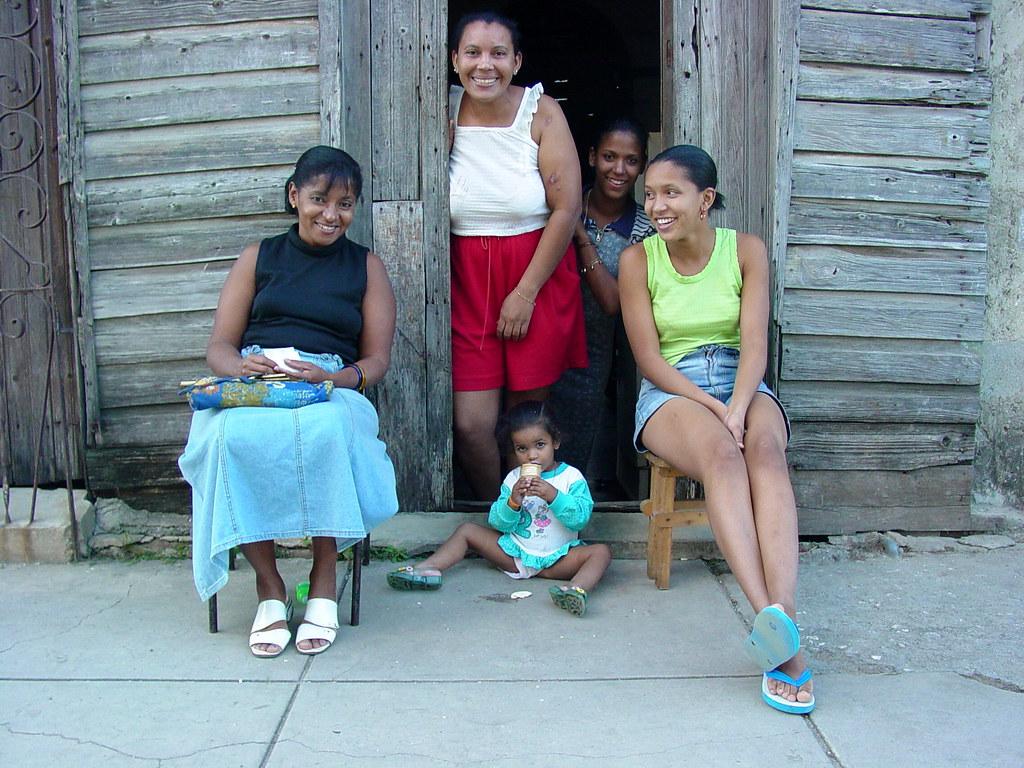 Women And Child Cienfuegos Cuba Adam Jones Flickr