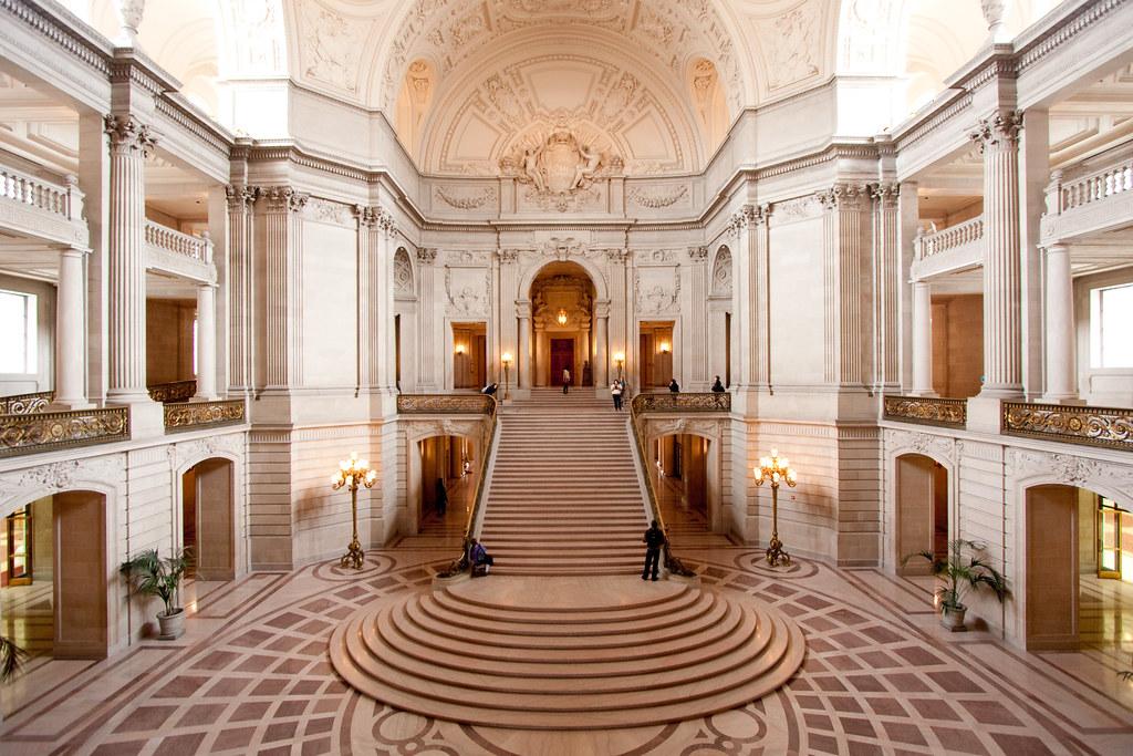 ... Interior Of San Francisco City Hall | By Enfi